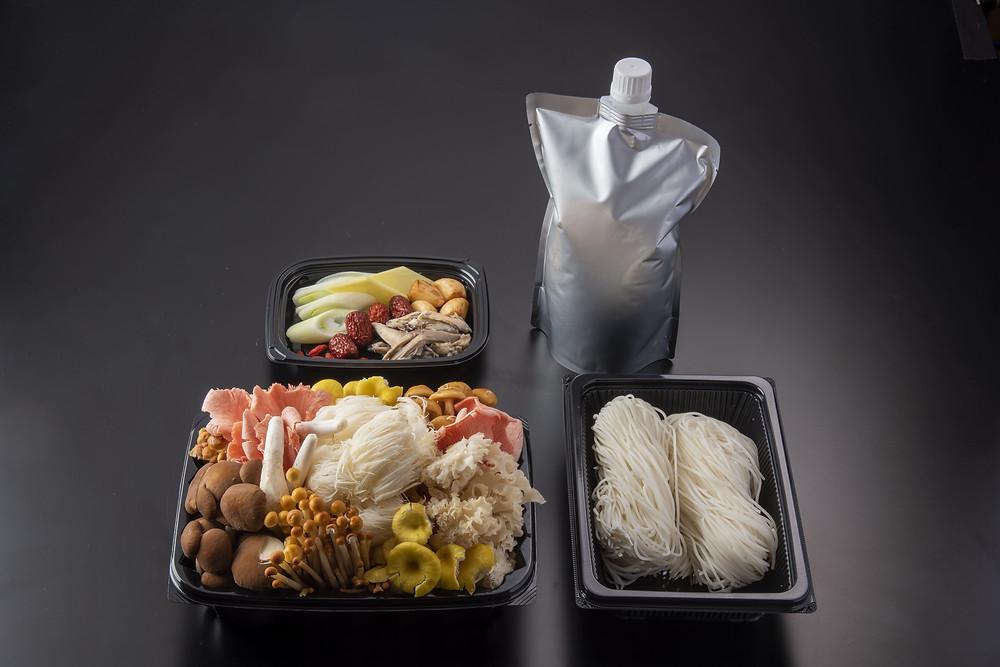 「御膳房 キノコ鍋」13,500円(税別)送料無料