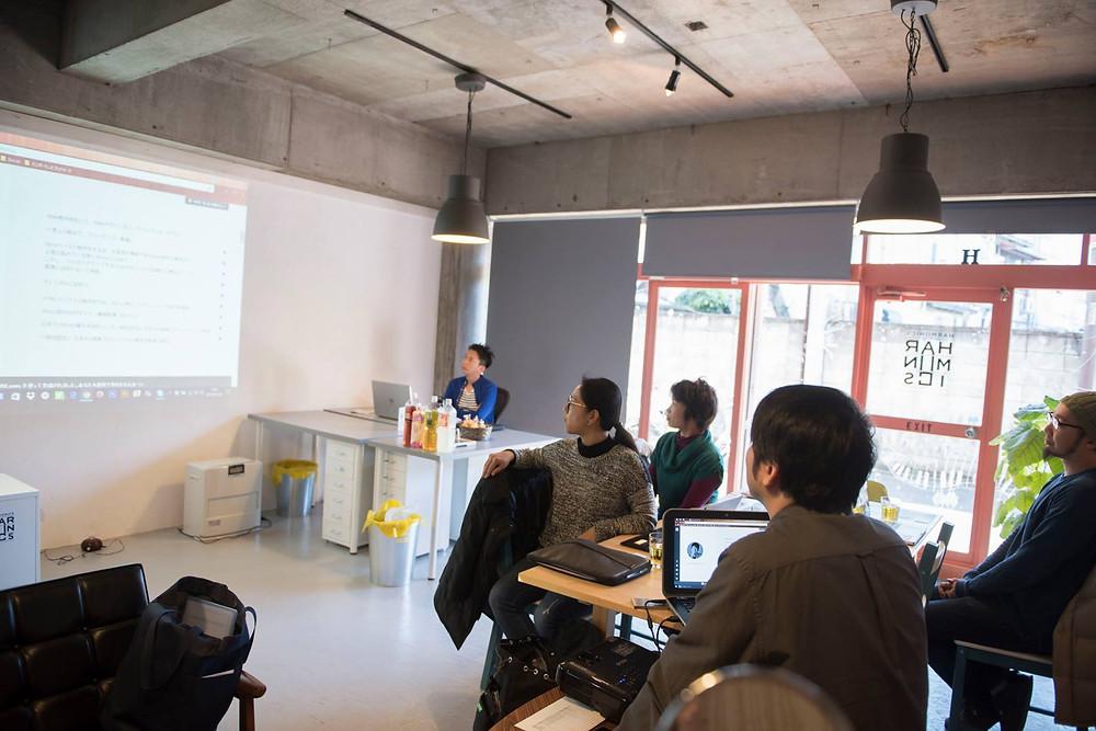 Wix Workshop TOKYOのワークショップ風景
