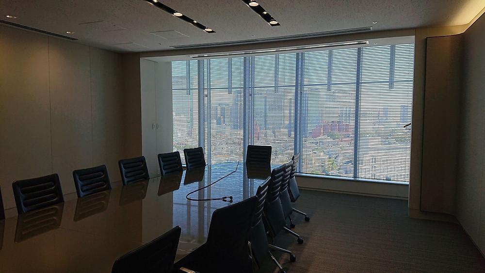 Wixの研修場所の会議室