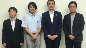 狛江市長と面談