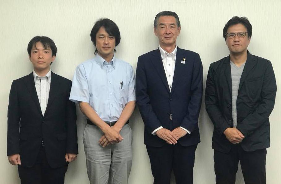 新しい狛江市長と面談