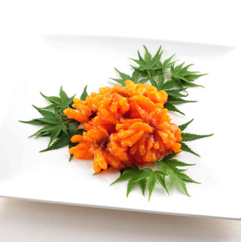 甘醋鮮魚の菊花仕立て