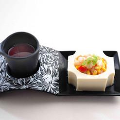 松の実とトウモロコシの炒め