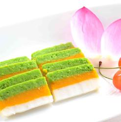 蚕豆、南瓜と山芋の羊羹