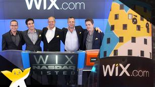 Wixは2013年に米NASDAQ市場にて株式を公開し、正式に取引開始してます!