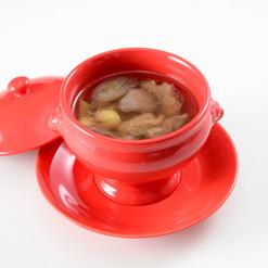 蓮根とスベアリブスープ