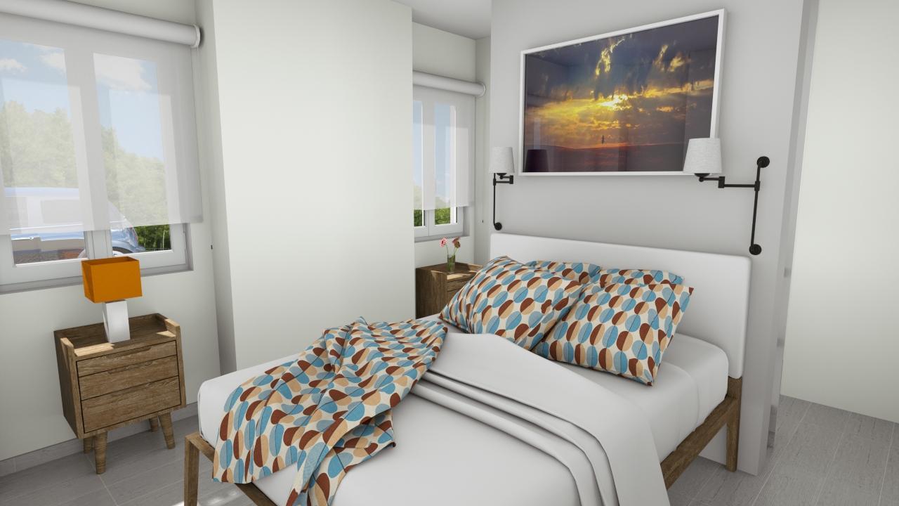 Master Bedroom with Dressing groundfloor