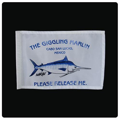 Giggling Marlin Flag Marlin