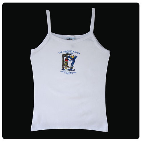 Giggling Marlin Woman's Tank Top