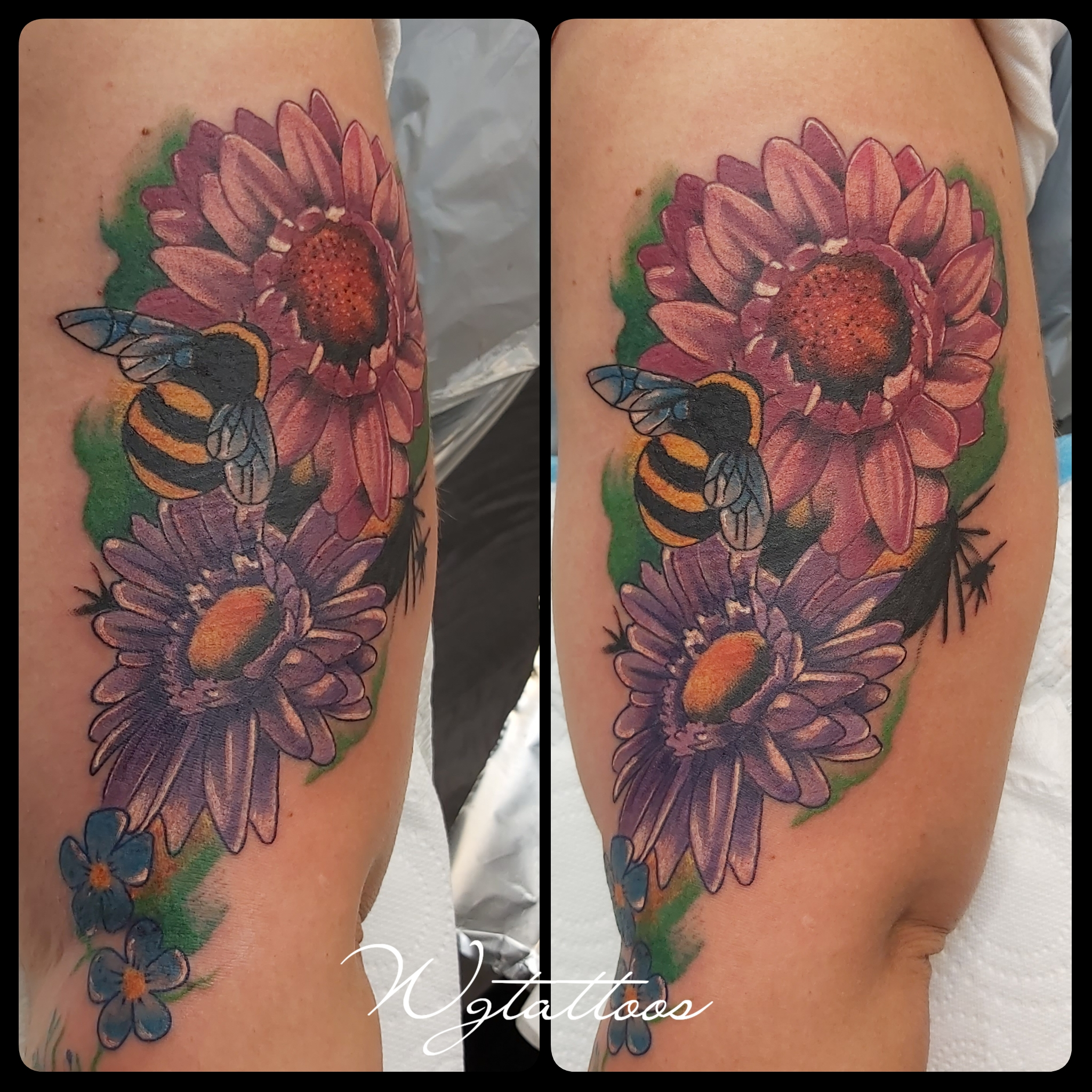 bumble bee tattoo
