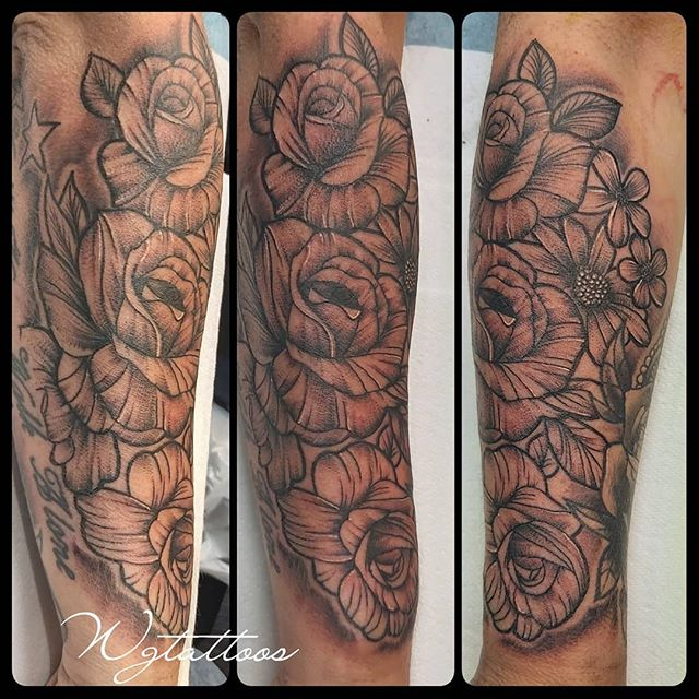 linework roses