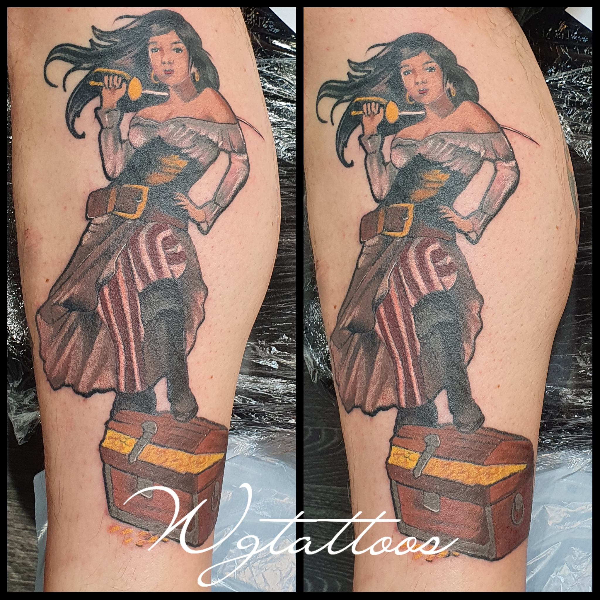 pirate tattoo