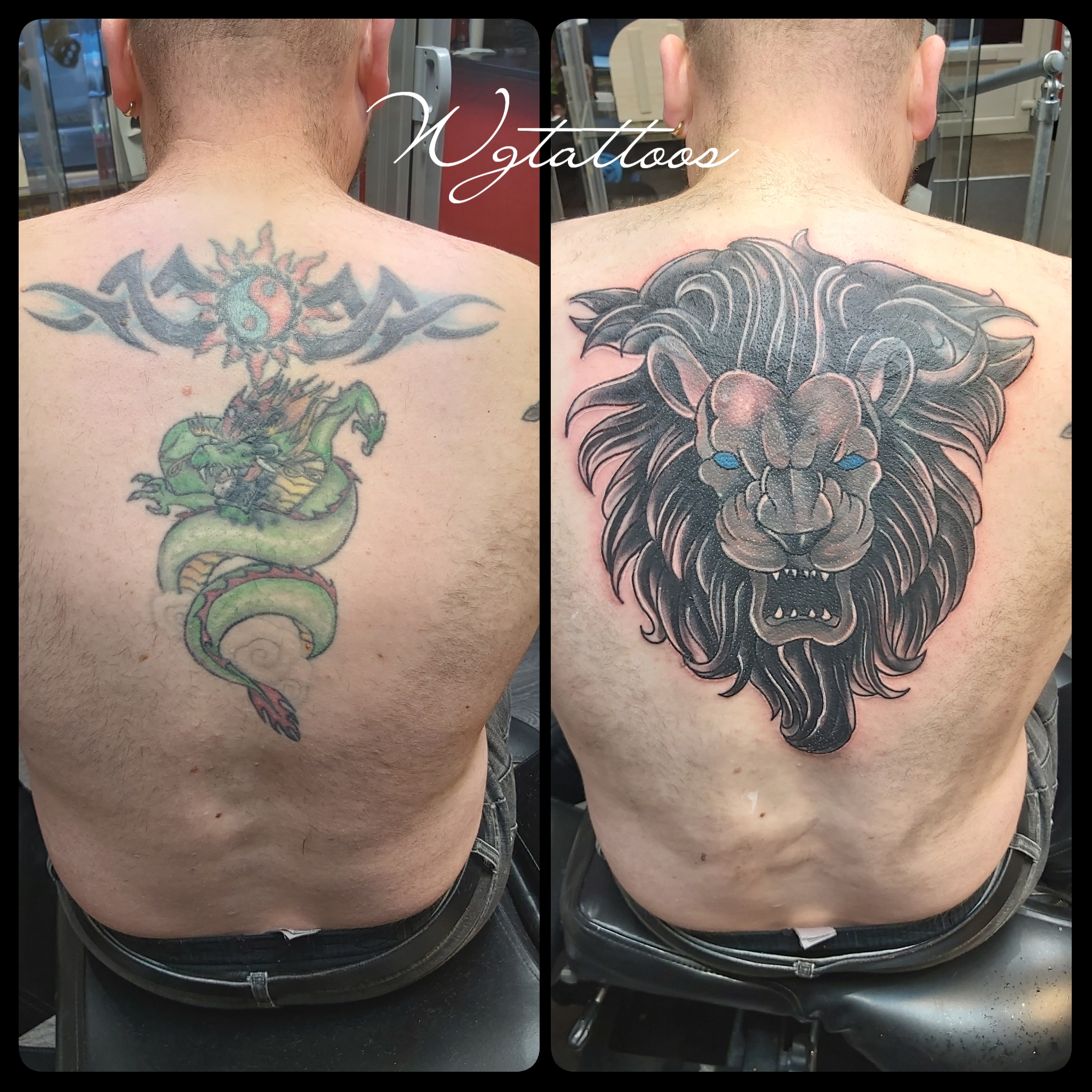 lion tattooo