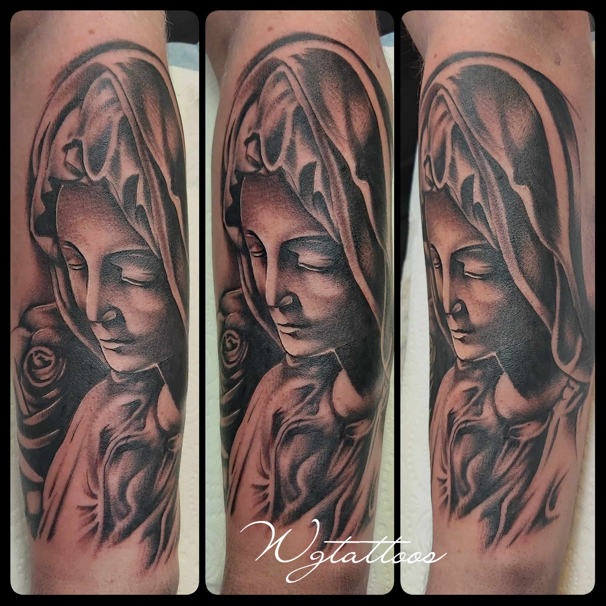 religous tattoo