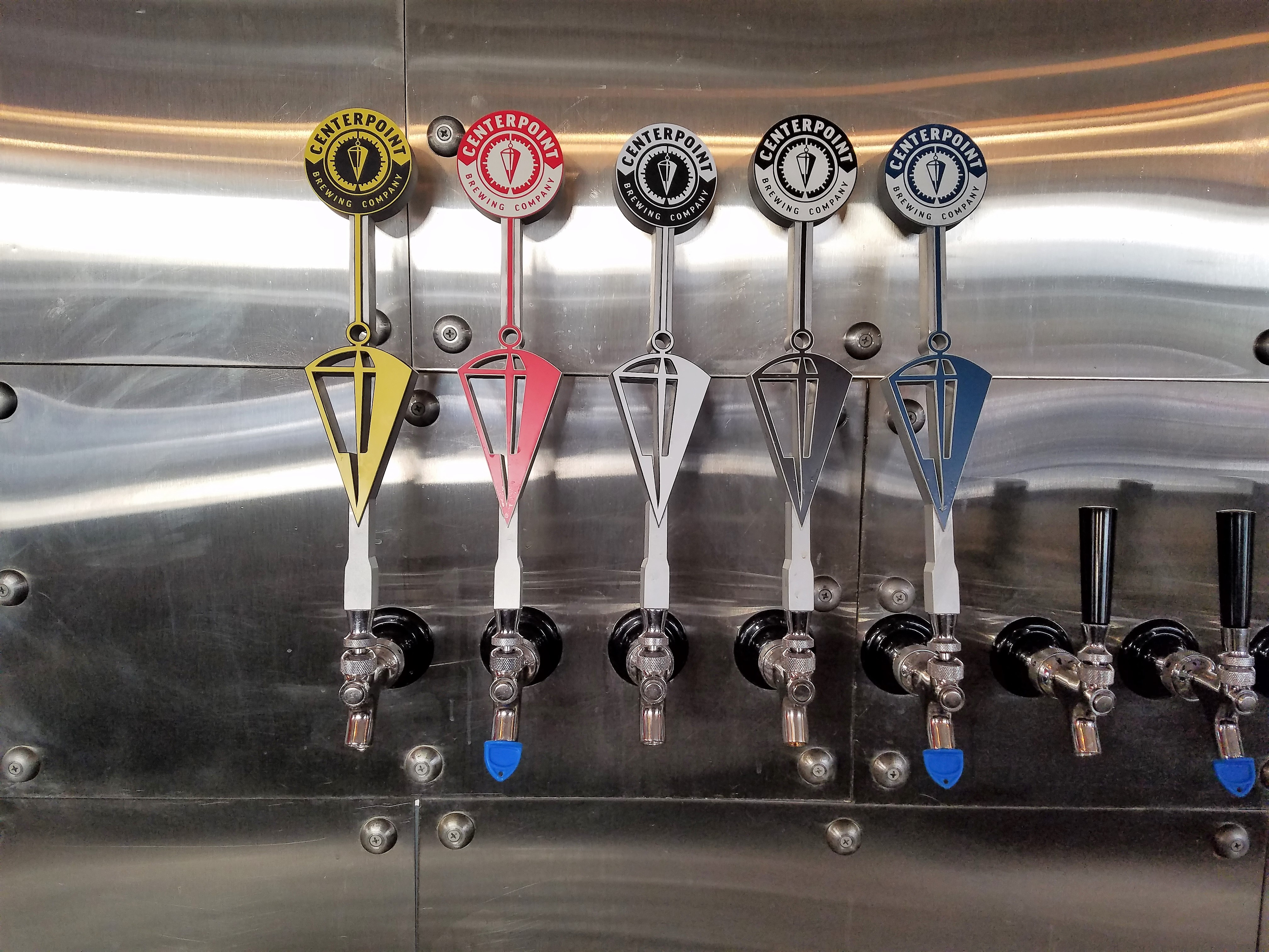 Tap Handles Installed