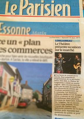 Journal Le Parisien, Guillaume Muller à Longjumeau