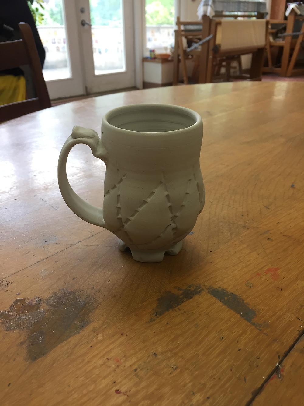 Quilt inspired mug.