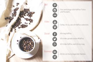 Social Media Kanäle und deren Inhalte Beispiel