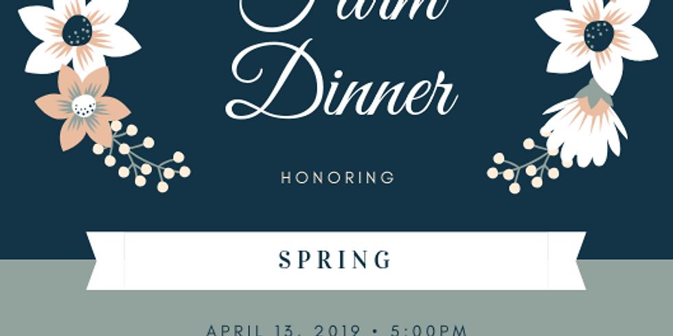 Spring Farm Dinner