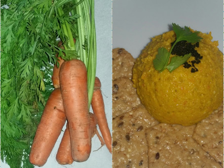 Roasted Carrot Pate