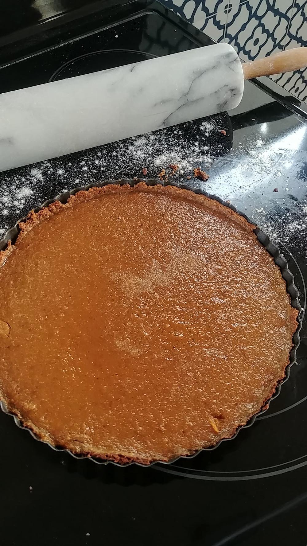 Pumpkin Creme Tart