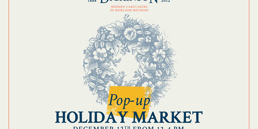 Popup Holiday Market
