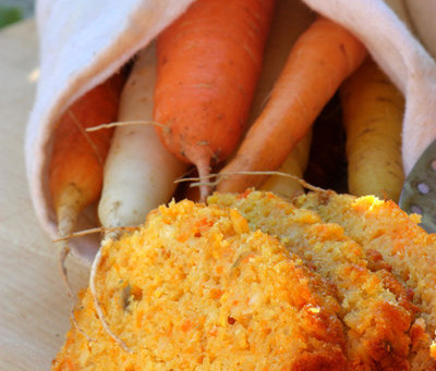 Roasted Carrot Quick Bread