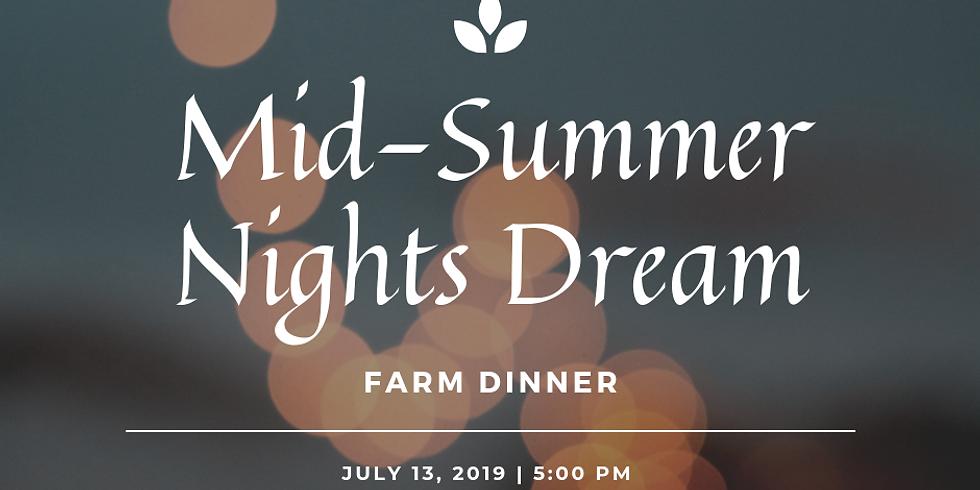 Summer Farm Dinner