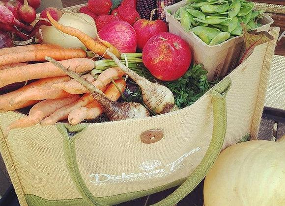 Jute Market Tote Bag