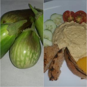 Black Beauty Eggplant Hummus