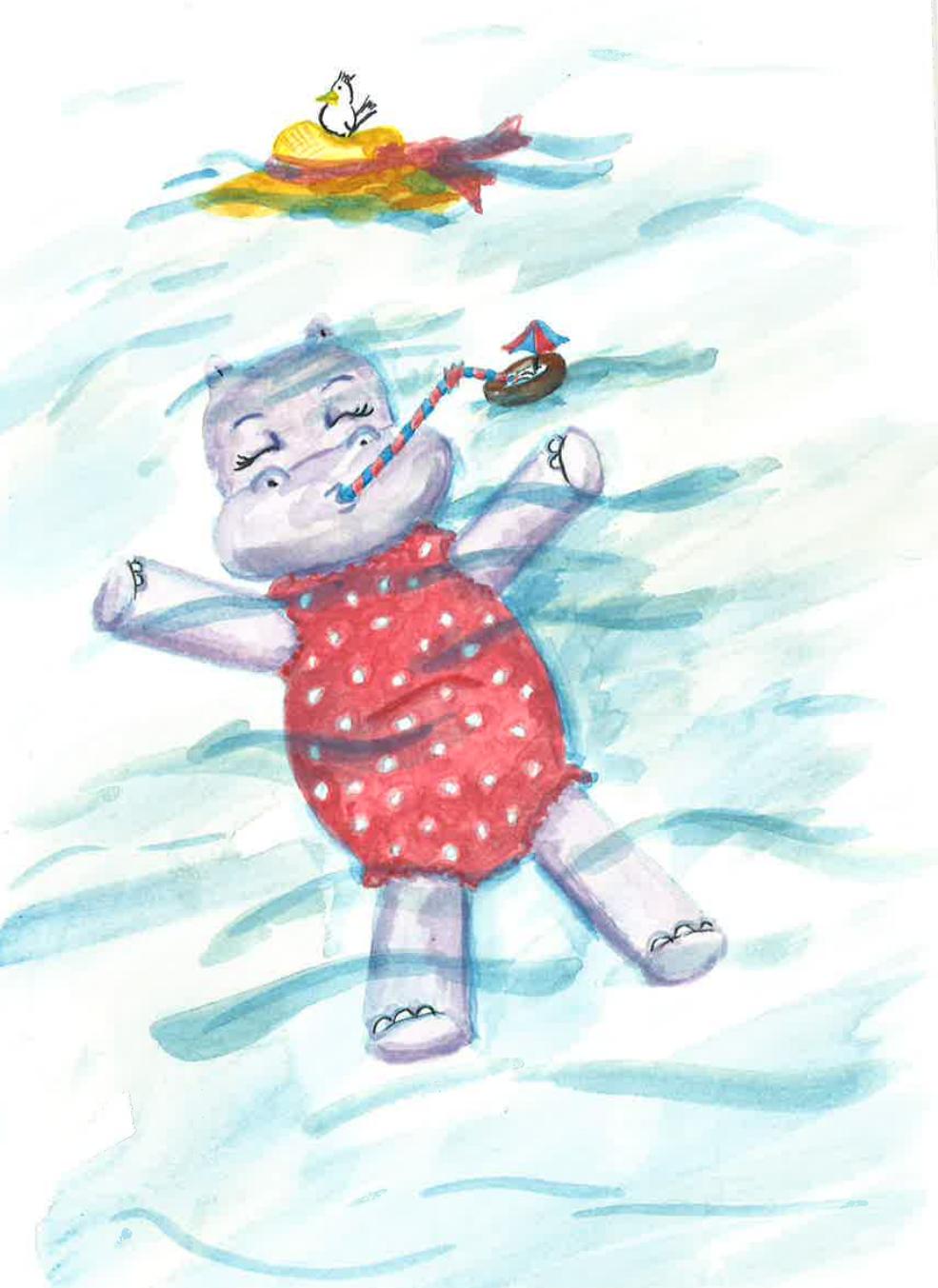 Happy Phoebe the Hippo