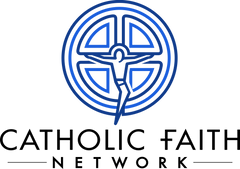 BLUE Catholic Faith Network w Logo (3000