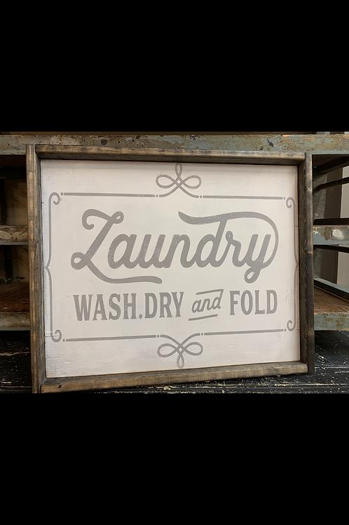 LAUNDRY WASH AND FOLD