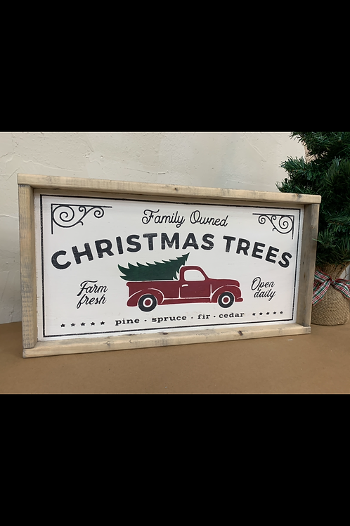 FAMILY OWNED CHRISTMAS TREES
