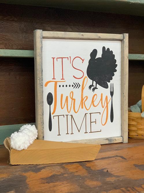 IT'S TURKEY TIME