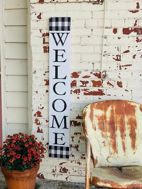 OUTDOOR WELCOME BOARD
