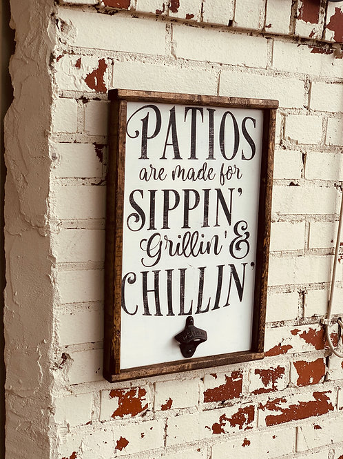 PATIOS ARE MADE FOR
