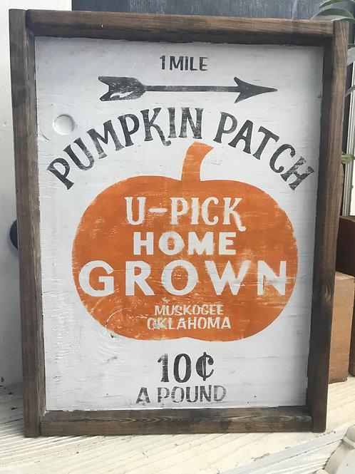 PUMPKIN PATCH HOME GROWN
