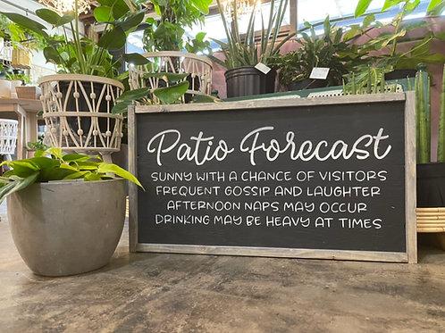 PATIO FORECAST