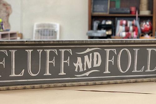 FLUFF & FOLD