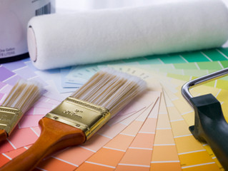 Painting a Home in Damp Weather