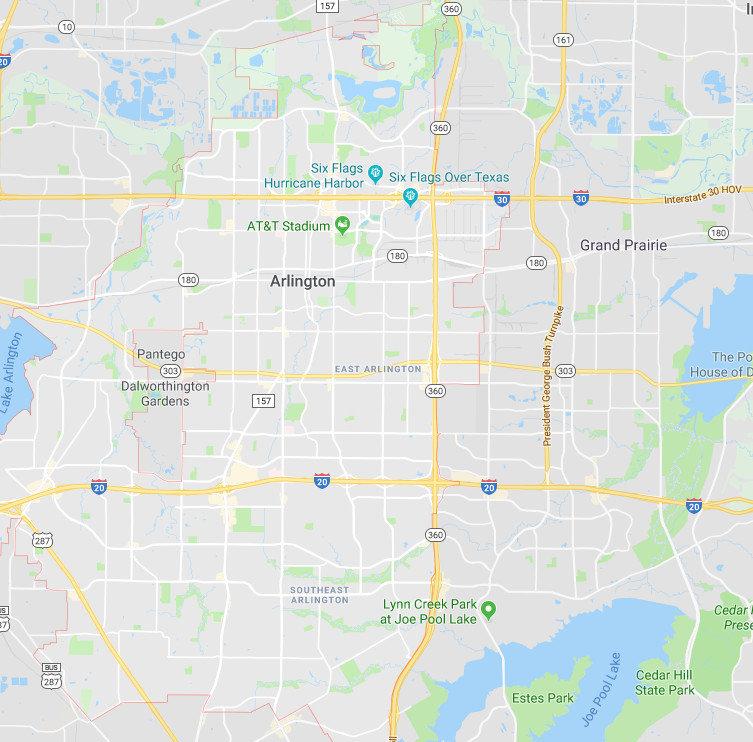 Arlington Texas Painters Service Area.jp