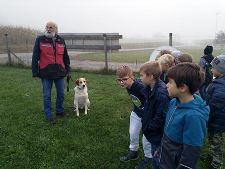 Besuch in der Hundeschule