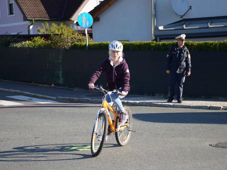 Radfahrtage der 4. Klassen