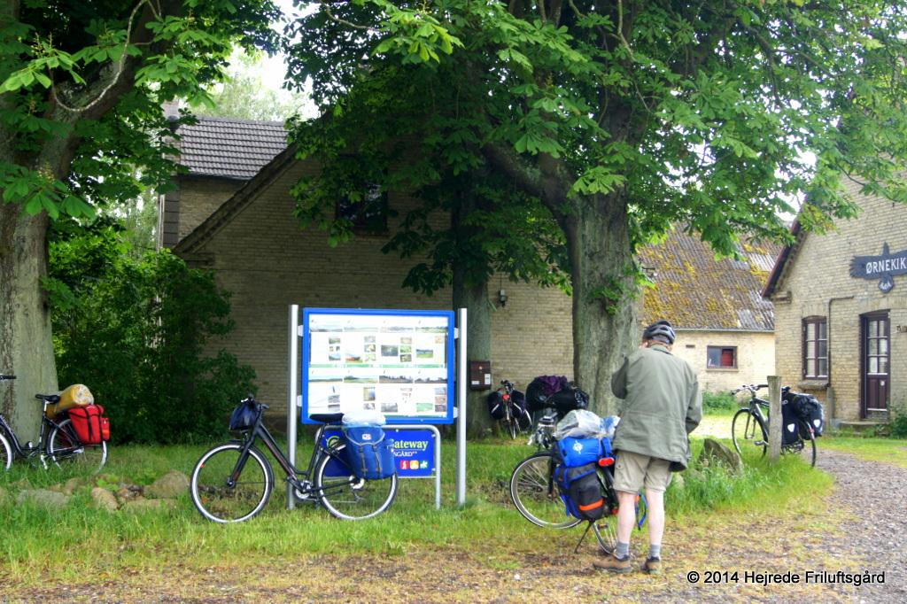 På cykelrejse