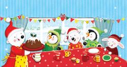 merry christmas singing animals_portfolio_gailyerrill