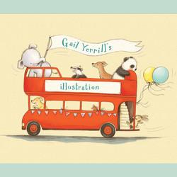 Elfump-and-Tickle_london-bus_cute_gail-Yerrill