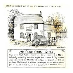 Ye-Olde-Cross-Keys_wood-end_gail-Yerrill