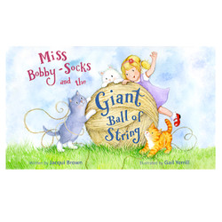 Miss bobby-socks and the Giant ball of string