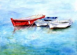 Greek-boats-in-watercolour_gail_yerrill_lr